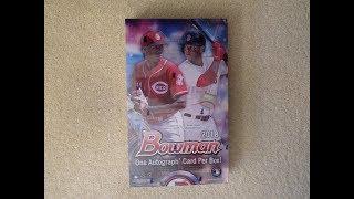 2018 Bowman Baseball - Hobby Box Break - Nice Cards!