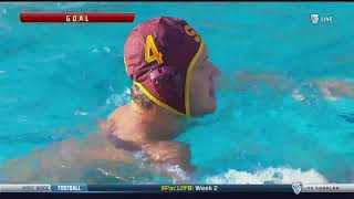 Men's Water Polo: USC 8, Stanford 6 - Highlights 9/8/17