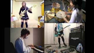 K-ON!!【けいおん!!】OP1 - Cagayake Girls! - BAND cover