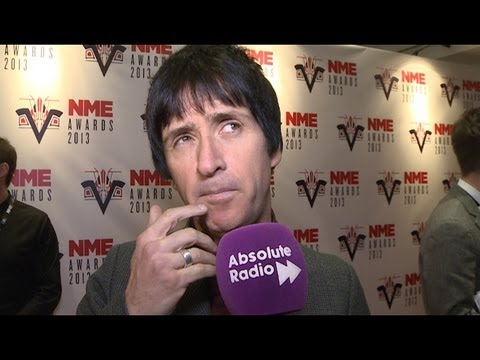 NME Awards 2013: Johnny Marr Interview