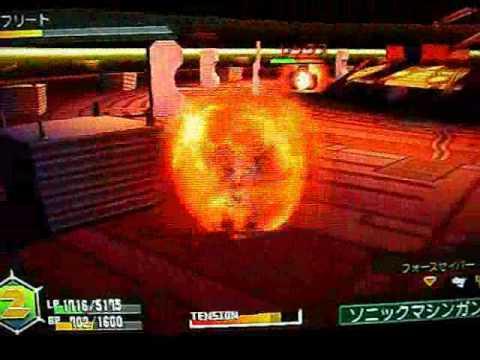 ダンボール戦機 PSP - Game Play LBX 対イフリート