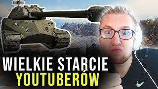WIELKIE STARCIE KLANÓW YOUTUBERÓW - World of Tanks