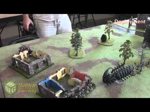 Necrons vs Orks Warhammer 40k Battle Report - Beat Matt Batrep - Part 1/4
