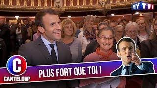 """Imitation d'Emmanuel Macron - """"Les fonctionnaires m'em******t !"""" - C'est Canteloup"""