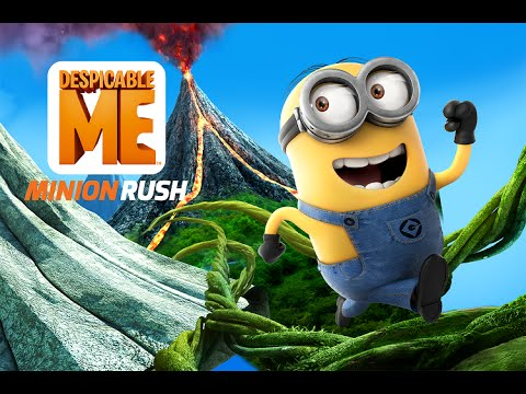 Despicable Me: Minion Rush Trailer The Volcano Island Update