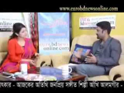 Interview Of Celebrity Singer Of Bangladesh Akhi Alamgir With Shaifur Rahman by eurobdnewsonline com