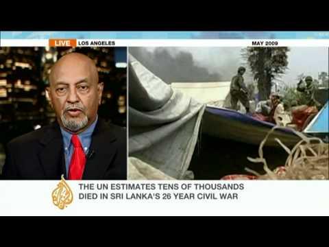 Donald Gnanakone talks about alleged 'war crimes' in Sri Lanka