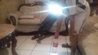 Amigo pudo aser la botella chaleng 1 bes y a la primera