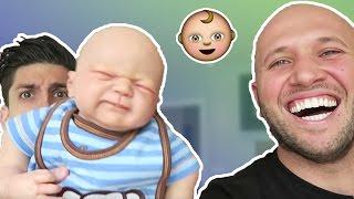 5 BABY PRANKS IN PUBLIC! - HOW TO PRANK