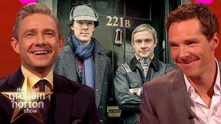 Elementary, My Dear Norton   Best of Benedict Cumberbatch & Martin Freeman on The Graham Norton Show