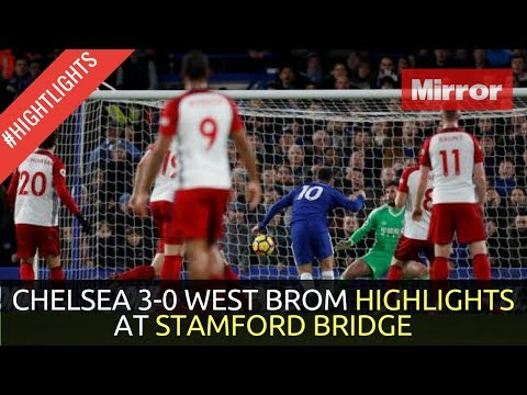 Play CHELSEA 3-0 WEST BROM HIGHLIGHTS PREMIER LEAGUE AT STAMFORD BRIDGE MON 12 FEB 2018 in Mp3, Mp4 and 3GP