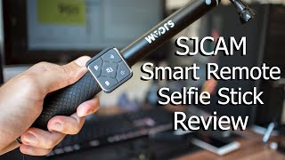 SJCAM  Smart Remote Watch & Selfie Stick Review | Offical Accessories