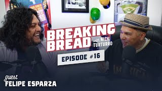FELIPE ESPARZA IS PART ITALIAN! HE GOT TO MEET REGGIE JACKSON! Breaking Bread w/ Nick Turturro #16