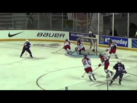Highlights: USA vs Czech Republic - 2016 IIHF Women's U18 World Championship