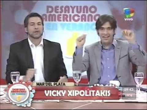 Vicky Xipolitakis se desnudó en Mar del Plata
