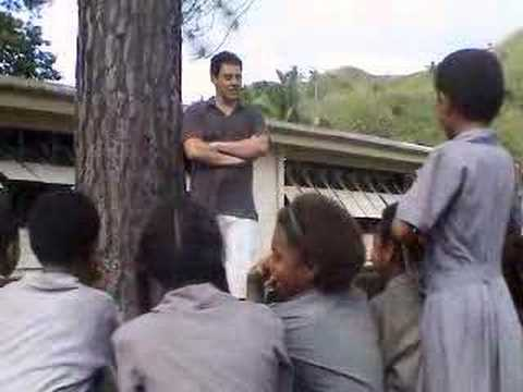 Orny Adams in Fiji