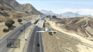 GTA 5 (Don't fly over the Army Base) PS3 HD
