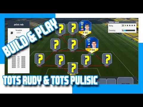 FIFA 17 - BUILD & PLAY - 88 TOTS PULISIC & 87 TOTS RUDY
