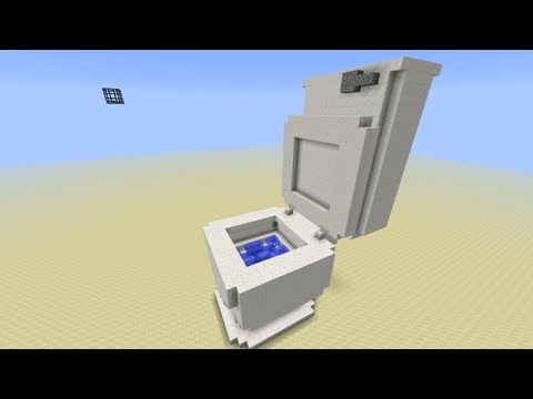 Toilet in Minecraft