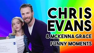CHRIS EVANS FUNNY MOMENTS 2017 | GIFTED Interviews