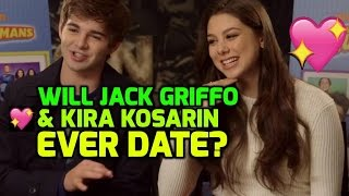 The Thundermans: Jack Griffo & Kira Kosarin talk pranks & love lives