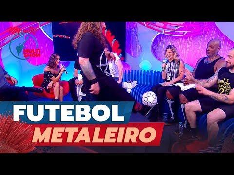 Download ANDREAS KISSER, do SEPULTURA, JOGA BOLA no estúdio | Rock In Rio 2019 Mp4 baru