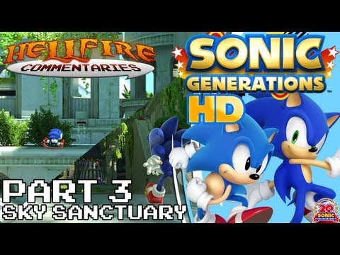 Sonic Generations HD playthrough [Part 3: Sky Sanctuary]