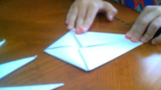 How To Make A 16 Pointed Ninja Star