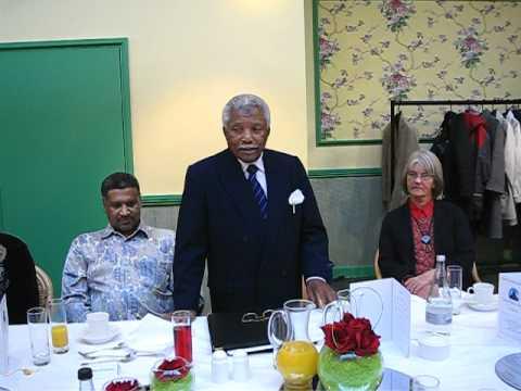 President Ali Hassan Mwinyi in London