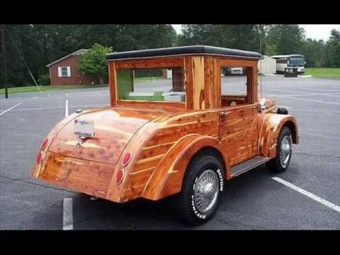 Custom Built Wood Car