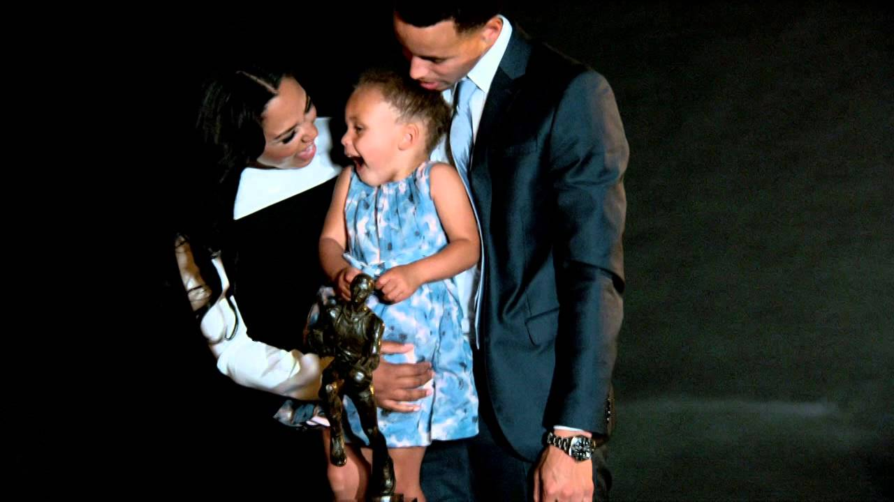 Proud Father, Stephen Curry