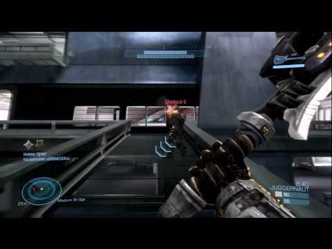Halo Reach: Beta Juggernaut Gameplay