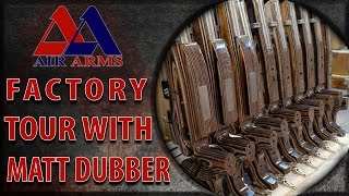 Visiting the Air Arms Factory with Matt Dubber