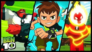 Ben 10 Walkthrough Part 1 Gameplay (PS4, XB1, Switch, PC) No Commentary - The City