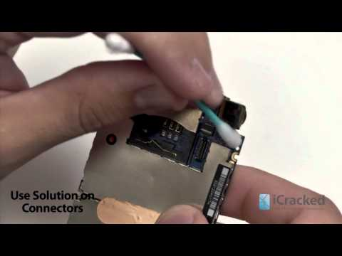 iPhone 3G / iPhone 3GS Water Damage Repair - iCracked.com