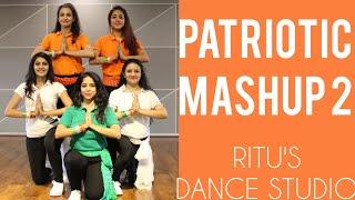 #PATRIOTICDANCE/ ONE INDIA MASH UP 2/26 JANUARY/ RITU'S DANCE STUDIO