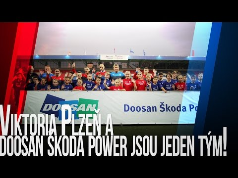 Viktoria Plzeň a Doosan Škoda Power jsou jeden tým!