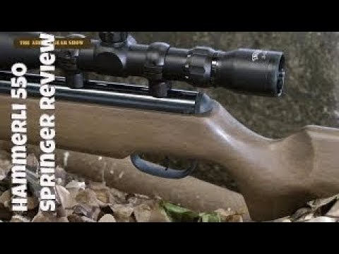 REVIEW: Hammerli 550 - Spring Air Gun- Air Rifle
