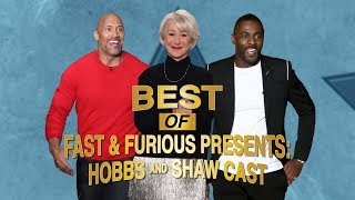 Best of 'Fast & Furious Presents: Hobbs & Shaw' Cast