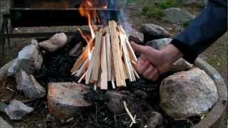The Feather Stick Fire.