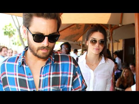 Kendall Jenner And Scott Disick Hit Il Pastio