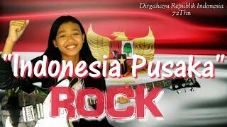 Indonesia Pusaka By Ismail Marzuki (ROCK) cover Ayu Gusfanz