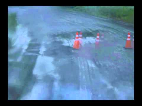 Autonomous Vehicle, driving under the rain