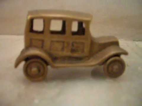 24 carat gold plated car....tarzan the wonder car....with aeysha...