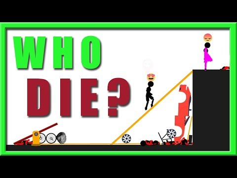 who die first - stupid stickman - night gaming
