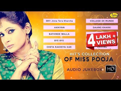 Hits Collection || Miss Pooja || Audio HD Jukebox || Latest punjabi songs 2015