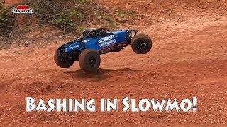 Slowmo RC offroad rally cars buggies bashing fun adventures