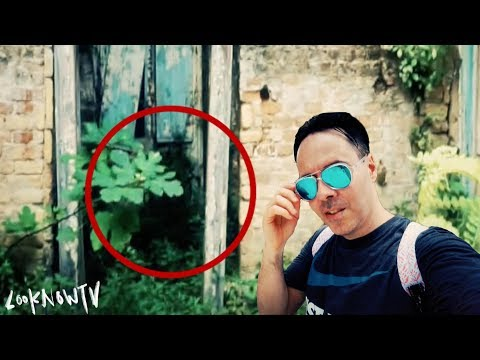 Creepy Mysterious Figure | Strange Abandoned Ancient Structure!