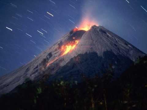 The biggest Volcano in the world , Tambora