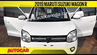 All-new 2019 Maruti WagonR - What to Expect | First Look Preview | Autocar India